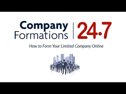 Company Formations 247. How to Form UK Limited Companies Online From £16.99