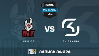 Misfits vs SK - ESL Pro League S6 NA - de_cache [sleepsomewhile, MintGod]