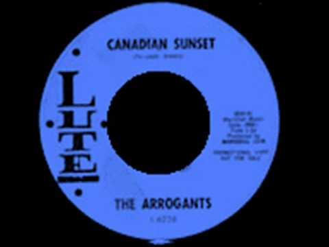 Tekst piosenki The Arrogants - Canadian Sunset po polsku