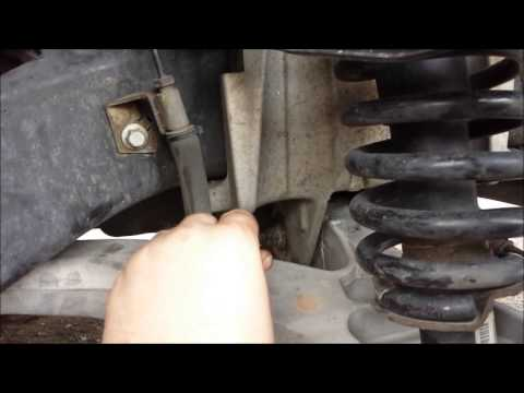 Removing the Lower Control Arms & Ball Joints on your 2004 Mercury Grand Marquis GS