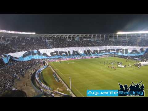Video - La Bandera mas Grande y mas Linda - La Guardia Imperial - La Guardia Imperial - Racing Club - Argentina
