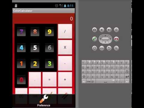 Video of Color Calculator