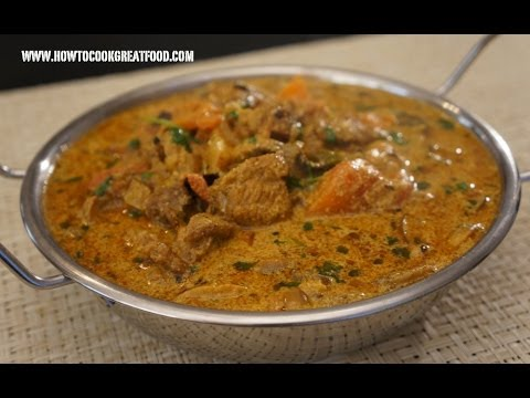 Indian Food – Beef Tomato & Yoghurt Curry Recipe – Ghee Garam Masala Curd