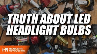Video The TRUTH about LED Headlight Bulbs! WATCH BEFORE BUYING ANYTHING MP3, 3GP, MP4, WEBM, AVI, FLV September 2019
