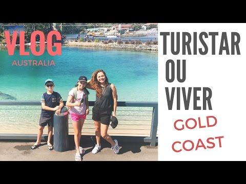 VLOG: A Realidade De Gold Coast    Surf x Aposentados x Turismo
