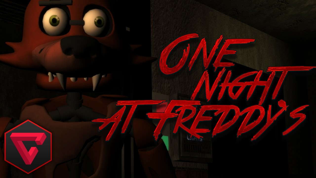 """FIVE NIGHTS AT FREDDY'S 3D – """"One Night at Freddy's""""   iTownGamePlay"""