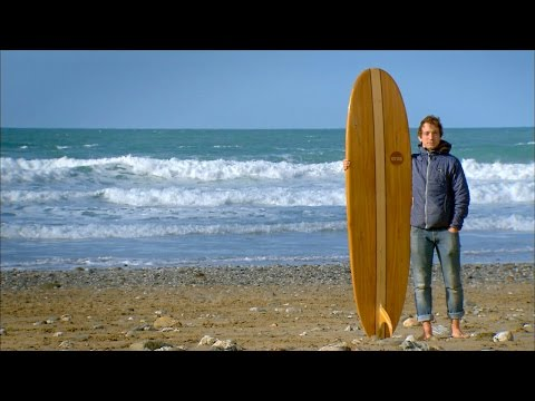 Making a Hollow Wooden Surfboard