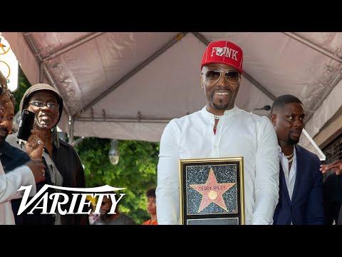 Teddy Riley Walk of Fame Ceremony