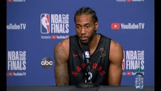 Video Toronto Raptors Media Availability | NBA Finals Game 1 MP3, 3GP, MP4, WEBM, AVI, FLV September 2019