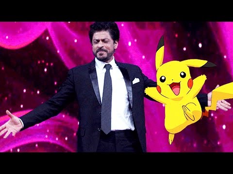 Shah Rukh Khan CATCHES Pokemon Go Fever