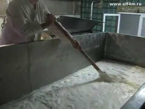 Видео: Оборудование по переработке молока (с.Поляны).