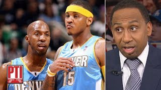 Stephen A. calls Chauncey Billups' comments on Carmelo Anthony 'devastating' | PTI