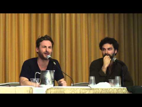 gorman - Dean O'Gorman and Aidan Turner (Dwarves Fili and Kili of The Hobbit) answer fans questions at Boston Comic Con on Sunday, August 4. The camera bounces around...