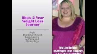 9. Rita's 2 Year Weight Loss Transformation DS wls, P90X & Shakeology