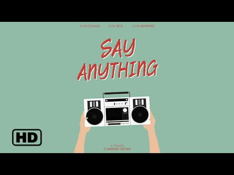 Say Anything... (1989) - Modern Trailer