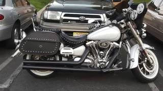 10. 2006 Yamaha Road Star Silverado Motorcycle Saddlebags Review - vikingbags.com