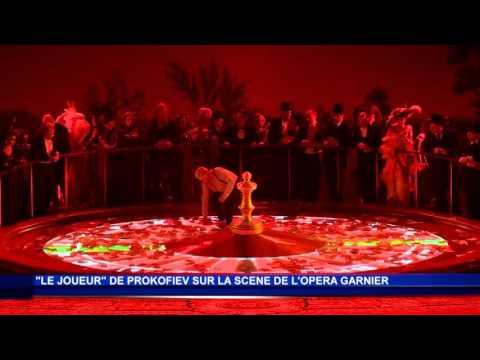 L'Opéra Garnier joue à la roulette russe avec Prokofiev - Sujet Monaco Info