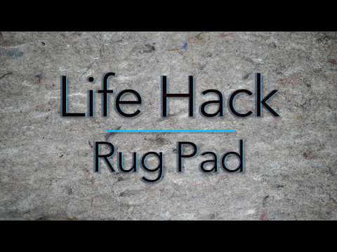 Video for Dual Surface Rug Pad Oval: 6 Ft. x 9 Ft. Rug Pad