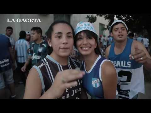 Los hinchas de Atlético colmaron las inmediaciones del estadio - La Inimitable - Atlético Tucumán