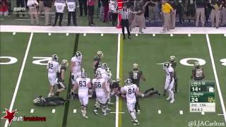 Bryce Hager vs Michigan State (2014)