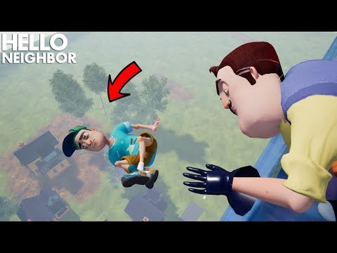 The Neighbor BUYS A SKYSCRAPER!!! | Hello Neighbor (Mods) (видео)
