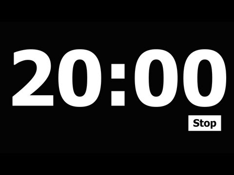 Video 20 Minute Countdown Timer download in MP3, 3GP, MP4, WEBM, AVI, FLV January 2017