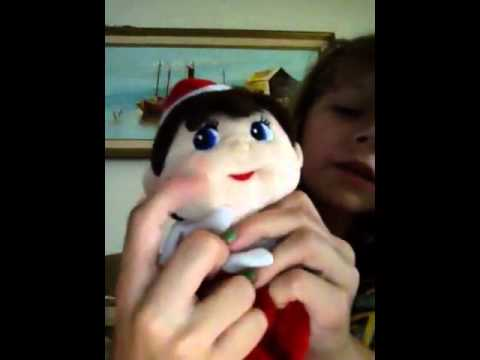 My elf on the shelf stuffed elf animal