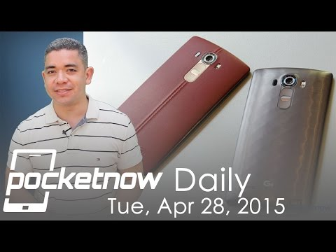 LG G4 announced, Android Wear update, Google Now cards & more – Pocketnow Daily