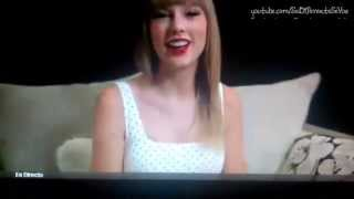 Taylor Swift hablando español (Taylor Swift talking spanish)
