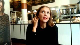 Maggie Gyllenhaal talks about chocolate milk
