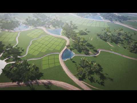 Система древних водных резервуаров на Шри Ланке