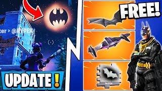 *NEW* Fortnite X Batman Update! | All Free Rewards, Gotham City, Skins!