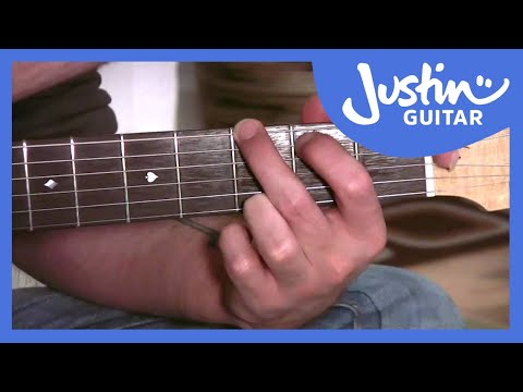 Notes In The Open Position (Guitar Lesson BC-171) Guitar for beginners Stage 7