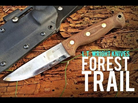 LT Wright Knife Connection Forest Trail- Gauntlet Review