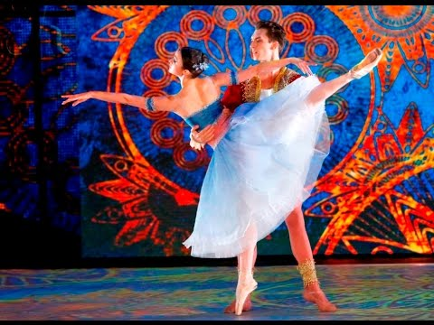 Большой балет. Инна Билаш и Никита Четвериков. Па-де-де из балета «Пери»