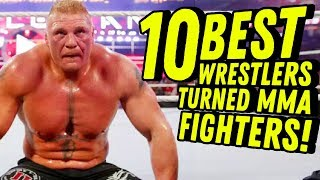 Video 10 BEST PRO WRESTLERS TURNED MMA FIGHTERS! Going In Raw Countout Podcast MP3, 3GP, MP4, WEBM, AVI, FLV Juni 2018