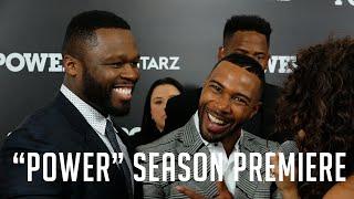 "Megan Ryte talks with 50 Cent, Omari Hardwick & more at the ""Power"" season 3 screening"