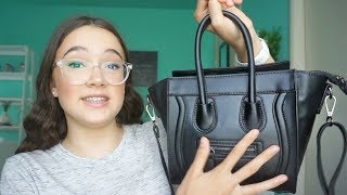 Subscribe so you don't miss a day! http://bit.ly/1Qd8qxk What's in my purse (aka bag)? What I keep in my back and what you don't think to put in your bag?! Want to see more shopping and haul adventures with Fiona, friends & family: https://www.youtube.com/playlist?list=PLmOjH8FiuoKGyPgeikyoZ-Sz3Nsa8QUSvMy new Fiona Frills website:http://fionafrills.com/frillianceIf you'd like to be the first to know when I get more limited edition inventory and launch new products, then you can join the Frilly Fam email list on my website. Frilliance Amazon Storefront  For my makeup tools & brushes that I love: http://amzn.to/2iMfSZd8TVI'm in love with a new app! 8TV. I make 45 sec videos of some of my favorite makeup products —  quick tips and why I like it. The cool part is the direct link to the product on Amazon to see it yourself. My channel:https://iam8.tv/iam/fionafrills. Download 8TV - where Snapchat meets QVC/Amazon - bit.ly/download-the-eight-app *not sponsored. These are my own opinions! YOUNOWhttp://www.younow.com/TheFionaFrillsI N S T A G R A Mhttp://www.instagram.com/fionafrillsT W I T T E Rhttp://www.twitter.com/fionafrillsS N A P C H A Tsnapchat @fionafrillsP I N T E R E S Thttps://www.pinterest.com/ThefionafrillsY O U T U B Ehttps://www.youtube.com/fionafrillshttps://www.youtube.com/channel/UCHc9T7DtK1yTrZwa4K6P3SAFACEBOOKhttps://www.facebook.com/fionafrillsLove you to the moon and back!FionaShopping & HaulsAre you obsessed with shopping & hauls like me?! Come shop with me at my fav stores -- Forever 21, Urban Outfitters, Marshall's, Ross, Zara, Sephora, Ulta, Target, CVS.FionaFrills VlogsLiving Out Loud Vlog is now FionaFrills Vlogs! I am still living it out loud and sharing my journey through life with all of you in this teen vlog. Posting just about every day, you'll see me travel between LA and the Bay Area; behind the scenes for my FionaFrills YouTube channel and auditions; daily hiccups in my life; going on hikes and outdoor adventures and travel; shopping; cooking; exercising; taking care of my pets and so much more. Subscribe and join me in this thing called LIFE.