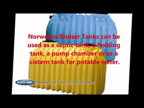 Underground Tanks | Cisterns | Norwesco | Plastic-Mart.com