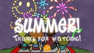 I Love Summer Song, Seasons song by ELF Learning