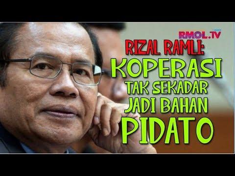 Rizal Ramli: Koperasi Tak Sekadar Jadi Bahan Pidato