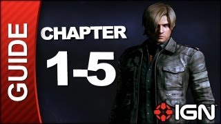 Resident Evil 6: Leon Kennedy Campaign Walkthrough - Chapter 1 pt 5