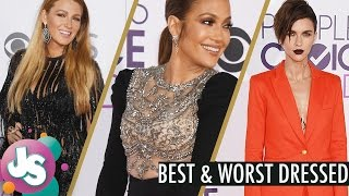 2017 People's Choice Awards Red Carpet Best and Worst Dressed Celebrities - Just Sayin' full download video download mp3 download music download