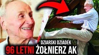 93 letni żołnierz AK zawstydza swoją formą fizyczną 20-latków!