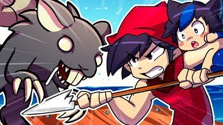 Guy and Girl FIGHT Giant Rat With Baby! | Raft The New Chapter #5