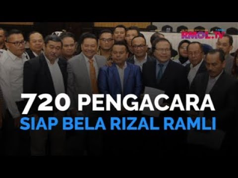 720 Pengacara Siap Bela Rizal Ramli