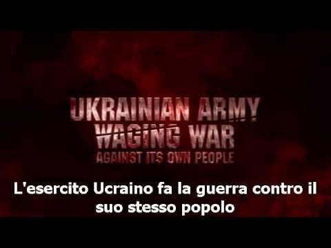 ucraina, genocidio nel donbass per mano dell'esercito ucraino