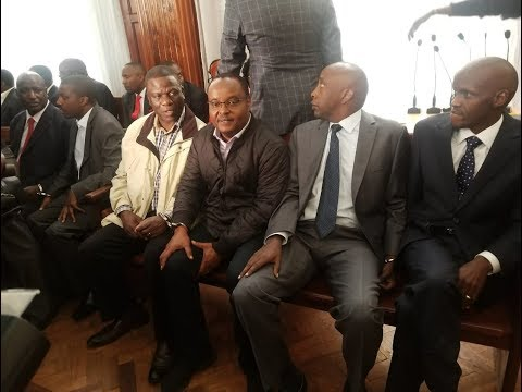 NHIF scandal suspects arraigned in Milimani court