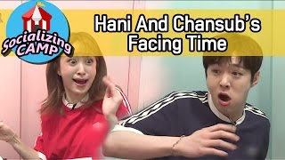 Video [Socializing CAMP] Changsub Can't Stop Laughing After Hani's Startled Look 20170505 MP3, 3GP, MP4, WEBM, AVI, FLV Agustus 2018