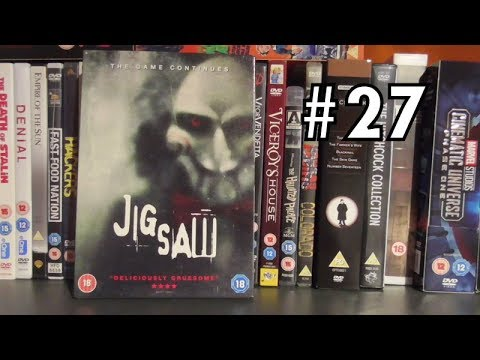 THE DVD HAUL #27 - Jigsaw (2017)